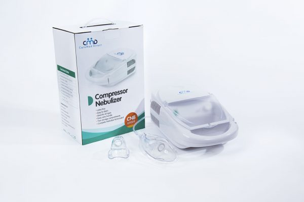 CareMed Compressor Nebulizer with box