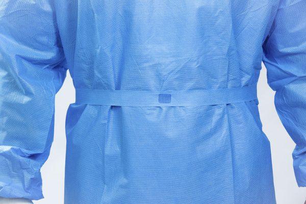 CareMed Single-Use SMS Isolation Gown waist belt