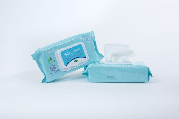 Two packs of Wipetex 531 Wipes