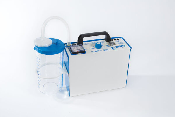 Suction Portable Machine Aspirator connected to 1000ml jar