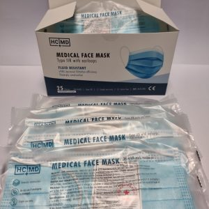 Medical Face Mask Type IIR, individually packaged