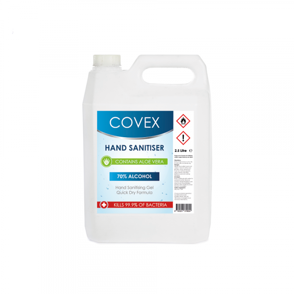 5L jerry can of covex hand sanitiser